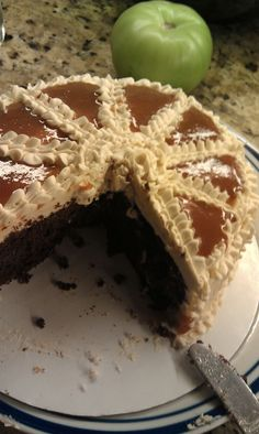 Guinness Chocolate Cake with Bailey's Irish Cream Frosting and Filling