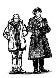Sherlock Cartoon, British People, Hilarious, Darth Vader, Deviantart, Fictional Characters, Sherlock Comic, Hilarious Stuff, Fantasy Characters