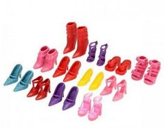 High Quality Mixed-Style Shoes For 11'' 30cm Dolls Wholesale Sandals Slippers Boots 12Style/pack Girl Doll Shoes Free shipping #Affiliate