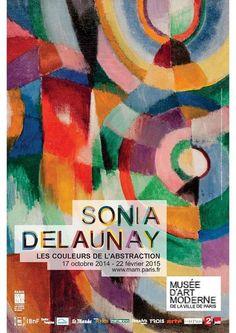 """livre : """"Sonia Delaunay, les couleurs de l'abstraction"""", catalogue exposition, Paris - Musées, 2014"""
