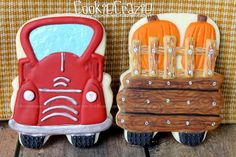 CookieCrazie: Autumn in the Country Cookie Collection. Bus cutter