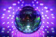 Disco Ball Purple