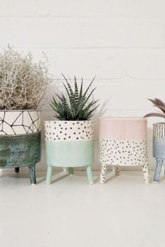Modern Flower Pots Ideas For Indoor Use 18