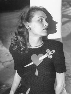 pierced heart 1947 via Joyce Collins Baker