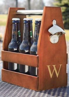 personalized craft beer holder  http://rstyle.me/n/qqyrnpdpe