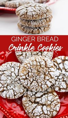 Making these Gingerbread Crinkle Cookies will instantly send a message that you've taken your cookie game to the next level this holiday. Family Fresh Meals, Family Recipes, Holiday Recipes, Cookie Games, Frozen Cookie Dough, Crinkle Cookies, My Favorite Food, Favorite Recipes, Recipe Sites