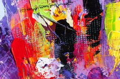 Details from my paintings - Art by Lønfeldt - Art original acrylic abstract paintings