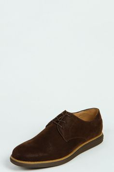 Thick Sole Derby Shoes