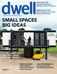 A subscription to Dwell magazine.