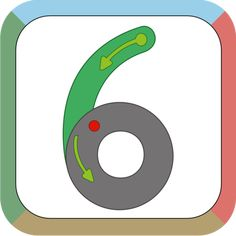 I learn writing number: Learn basic shapes gesture before starting to draw full numbers Colorfull carefully crafted minimaslistic interface Lesson Mode to show you how to draw all the shapes and numbers Learn To Write Cursive, Learning Cursive, Writing Numbers, Basic Shapes, Mobile Application, App Icon, Maths, Android, Draw