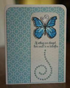 There's just something about butterflies. We love them, and we love this card Sharyn created with the Wingin' It stamp set from TechniqueTuesday.com.