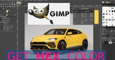 How to get #hex color in #Gimp image editor #tutorial Hex Color Codes, Form Drawing, Color Picker, Image Editor, Image File Formats, D 20, Problem Solving, Colorful Backgrounds, Web Design