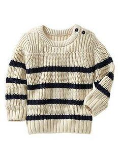 Striped sweater | Gap fisherman sweater
