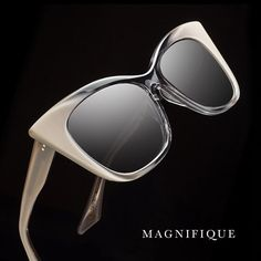 Magnifique - Now in grey crystal to cream. Coming soon to DITA.com. #DITAeyewear