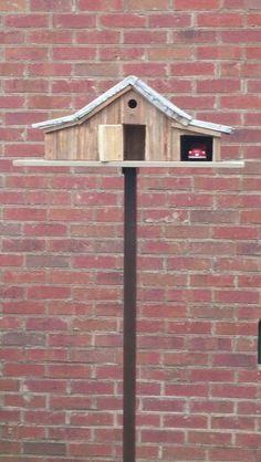 Old barn birdhouse