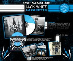 Jack White: Lazaretto - Third Man Records - The Vault Edition