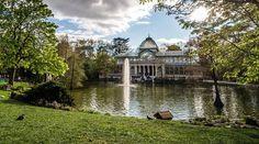 Palacio de Cristal de el Parque de El Retiro de Madrid