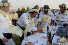 Firma alcalde de Tlaxcala convenio para impulsar nueva turística de 4 señoríos            * La alianza pretende impulsar un turismo de cultura en la región de los Cuatro Señoríos por los atractivos históricos, culturales y naturales.