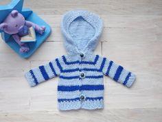 Doll's cardigan/ hooded cardigan/ knitted cardigan/ by EvaiDolls
