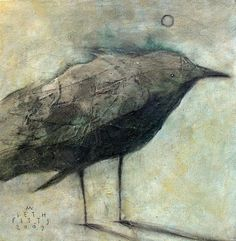 Moody Mellow Corvid...can't read the writing on there but I know it's by Seth Fitts