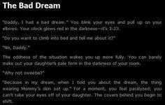 Bad Dreams and Nightmares   Via Shawn Ecker