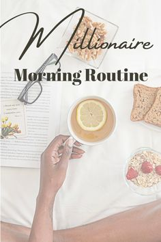 The MILLIONAIRE Morning Routine // Create successful habits. Do you wake up in control of your day or does your day control you? I am going to share with you my morning routine that has helped change my life and business. Change My Life, Business Tips, You And I, Routine, Create, You And Me