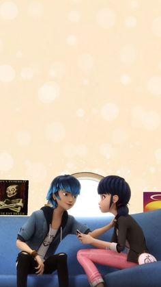 Mlb Wallpaper, Mobile Wallpaper, Luka Miraculous Ladybug, Dibujos Zentangle Art, Adrien Miraculous, Episode Interactive Backgrounds, Miraculous Ladybug Wallpaper, Everything Is Blue, Meraculous Ladybug
