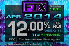 2014 - Week 16 Profits!