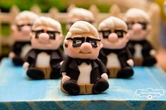 Mr. Fredricksen Favors/Sweets from a Disney's Up Inspired Birthday Party via Kara's Party Ideas! KarasPartyIdeas.com (19)