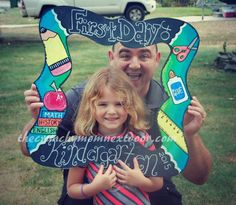 Beautiful Doodledaisy Designs Back-to-School Frame + GIVEAWAY! Ends 10/6 #giveaway #backtoschool
