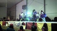 Annual Elders Gathering 2013 in Pinehouse,Sk Dancers, Wrestling, Lucha Libre, Dancer