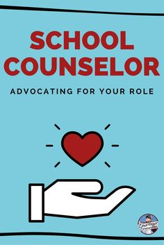 Advocating for the Role as a School Counselor. Tips for how to talk to administrators and staff about what the role of a school counselor is and should be. Role Of School Counselor, School Counselor Organization, School Counseling Office, Elementary Counseling, School Social Work, Counseling Activities, Counseling Quotes, Career Counseling, Primary Education