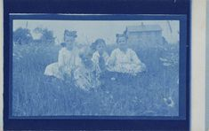Untitled (postcard) | Smithsonian Institution Cyanotype, Museum Collection, Public Domain, American Art, Art Museum, Gallery, Artist, Painting, Image