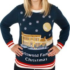 Christmas Vacation Lighted Griswold House Ugly Sweater - His & Hers