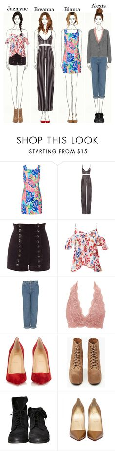 """Girls in Fashion: Jazzy Is A Game Changer"" by heymishiehere ❤ liked on Polyvore featuring Lilly Pulitzer, Movado, Tamara Barnoff, Tanya Taylor, Topshop, Charlotte Russe, Christian Louboutin, Jeffrey Campbell, Zara and breannahollybrenton"