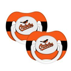 Baltimore Orioles Pacifier 2-Pack