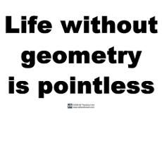 Life Without Geometry is pointless is a another math geek t-shirt that will have you laughing at how smart you are. This is perfect for all math geek and math teachers alike. Math Jokes, Jokes And Riddles, Math Humor, Science Jokes, Nerd Humor, Teaching Geometry, Teaching Math, Teaching Memes, Teaching Tools