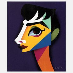 Audrey 1 by Artist David Cowles, $100, now featured on Fab.