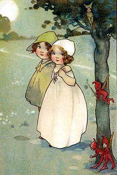 vintage fairies #12