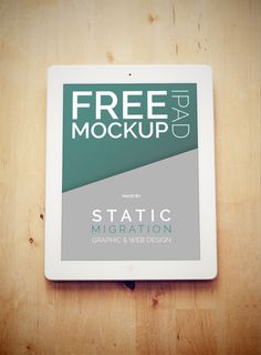 Big list of best free PSD mockups design and mockup templates to showcase your creative work in modern way. Here is a list of 100 best free PSD mockups divided Free Web Design, Free Mockup Templates, Brand Guidelines, Ipad, Graphic Design, Design Design, Wood Surface, Presentation, Report Design