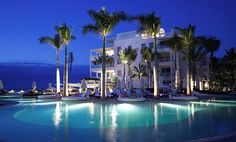 The Regent Palms. Located on Grace Bay Beach, Turks and Caicos.