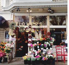 A charming Noe Valley flower shop #wanderingsole