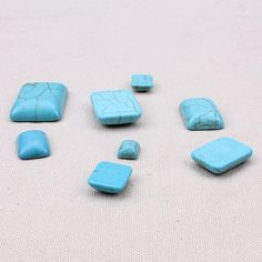 OFF! Choosing wholesale 10pcs/lot half square blue turquoise flat back cabochons beads diy fittings stone beads jewelry findings online? DHgate.com sells a variety of other jewelry sets for you. Buy now enjoy cheap price.