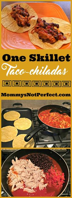 Yummy one skillet meal with ingredients you likely have in your pantry.