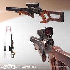 Citadel Arms - Super Special .308 Rifle, Adam Taylor on ArtStation at https://www.artstation.com/artwork/W1V1y
