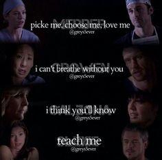 Grey's Anatomy Hot Couples
