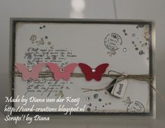 Scraps'! by Diana: Stampin'Up! *French Foliage en Lovely Little Labels
