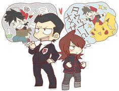 Pokemon Manga, Pokemon Alola, Pokemon Ships, Pokemon Comics, Pokemon Memes, Cute Pokemon, Anime Manga, Pokemon Stuff, Pokemon Team Leaders