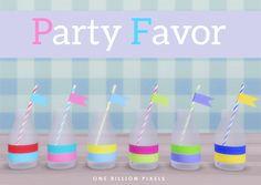 One Billion Pixels: Party Favor (Part 1 - The Sims 4)