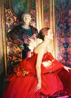 Evening Gown, 1953. Photographed by Cecil Beaton